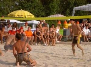 Beachvolleyball-Turnier 2 Tage (Benefiz 2002)