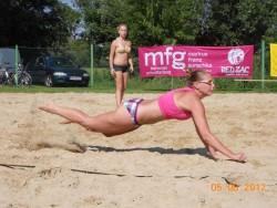 Beachvolleyball-Turnier in Rabensburg 2012