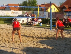 Beachvolleyball-Turnier in Spillern 2012