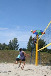 Beachvolleyball-Juxturnier 2011